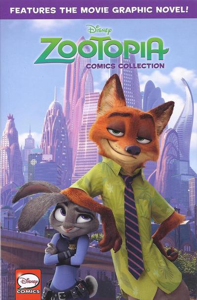 Cover for Disney Zootopia (Joe Books, 2016 series)