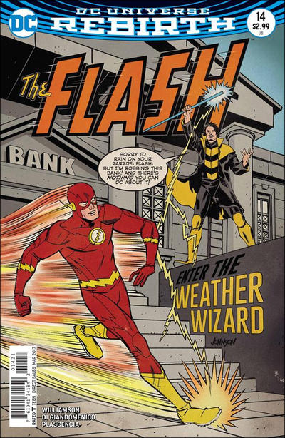 Cover for The Flash (DC, 2016 series) #14 [Newsstand]