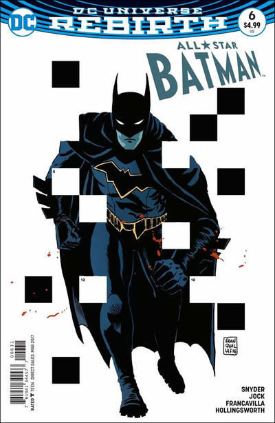 Cover for All Star Batman (DC, 2016 series) #6