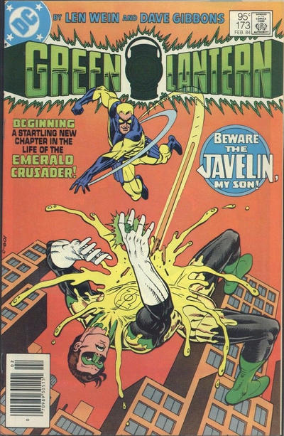 Cover for Green Lantern (DC, 1960 series) #173 [Direct]