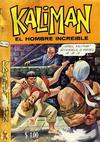 Cover for Kalimán El Hombre Increíble (Promotora K, 1965 series) #165