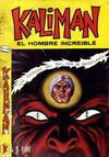 Cover for Kalimán El Hombre Increíble (Promotora K, 1965 series) #168