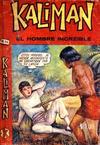 Cover for Kalimán El Hombre Increíble (Promotora K, 1965 series) #310