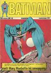 Cover for Batman Classics (Classics/Williams, 1970 series) #33