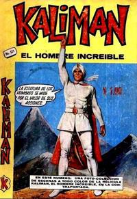 Cover Thumbnail for Kalimán El Hombre Increíble (Promotora K, 1965 series) #321