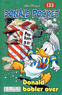 Cover Thumbnail for Donald Pocket (Hjemmet / Egmont, 1968 series) #133 - Donald bobler over [2. utgave bc 239 05]