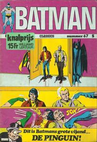 Cover Thumbnail for Batman Classics (Classics/Williams, 1970 series) #67