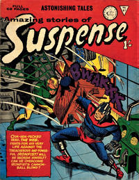 Cover Thumbnail for Amazing Stories of Suspense (Alan Class, 1963 series) #81