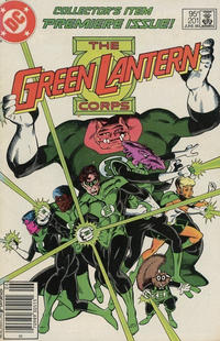 Cover for Green Lantern (DC, 1976 series) #201 [Newsstand Edition]