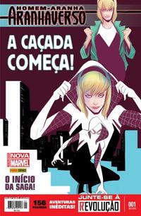 Cover Thumbnail for Homem-Aranha: Aranhaverso (Panini Brasil, 2015 series) #1