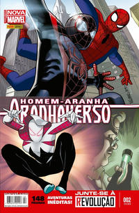 Cover Thumbnail for Homem-Aranha: Aranhaverso (Panini Brasil, 2015 series) #2