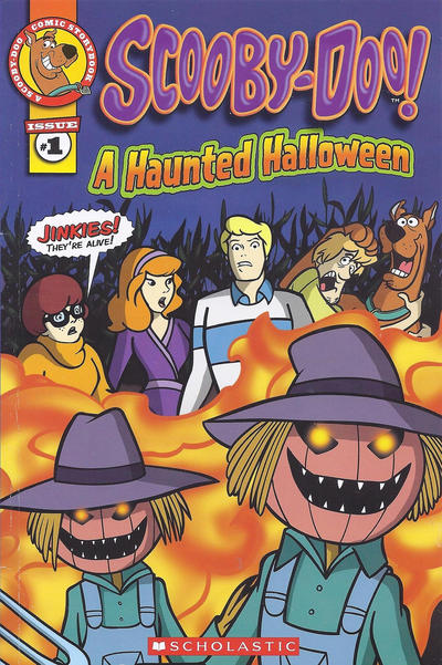Cover for A Scooby-Doo Comic Storybook (Scholastic, 2011 series) #1 - A Haunted Halloween
