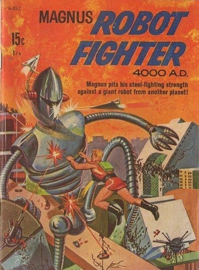 Cover for Magnus Robot Fighter 4000 A.D. (Magazine Management, 1975 ? series) #6-052
