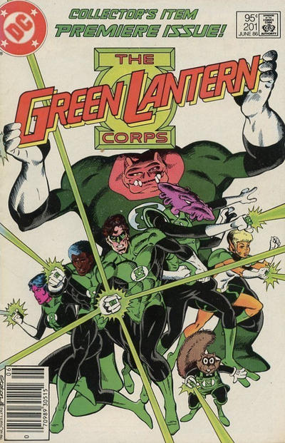Cover for Green Lantern (DC, 1976 series) #201 [Direct Edition]