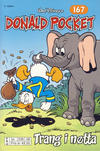Cover Thumbnail for Donald Pocket (1968 series) #167 - Trang i nøtta [2. utgave bc 239 08]