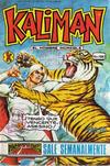 Cover for Kalimán El Hombre Increíble (Promotora K, 1965 series) #1087