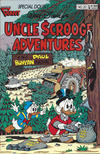 Cover for Walt Disney's Uncle Scrooge Adventures (Gladstone, 1987 series) #20 [Newsstand]