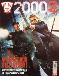 Cover Thumbnail for 2000 AD (Rebellion, 2001 series) #1876