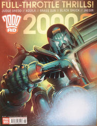 Cover Thumbnail for 2000 AD (Rebellion, 2001 series) #1895