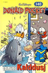 Cover Thumbnail for Donald Pocket (Hjemmet / Egmont, 1968 series) #140 - Kalddusj [2. utgave bc 239 05]