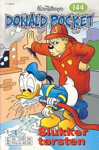 Cover Thumbnail for Donald Pocket (Hjemmet / Egmont, 1968 series) #144 - Donald slukker tørsten [2. utgave bc 239 06]