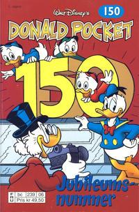 Cover Thumbnail for Donald Pocket (Hjemmet / Egmont, 1968 series) #150 - Jubileumsnummer! [2. utgave bc 239 06]