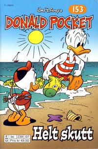 Cover Thumbnail for Donald Pocket (Hjemmet / Egmont, 1968 series) #153 - Helt skutt [2. utgave bc 239 07]