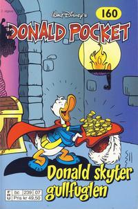 Cover Thumbnail for Donald Pocket (Hjemmet / Egmont, 1968 series) #160 - Donald skyter gullfuglen [2. utgave bc 239 07]