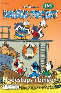 Cover Thumbnail for Donald Pocket (Hjemmet / Egmont, 1968 series) #165 - Hodestups i bingen [2. utgave bc 239 08]