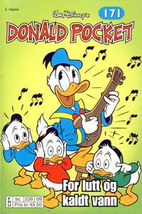 Cover Thumbnail for Donald Pocket (Hjemmet / Egmont, 1968 series) #171 - For lutt og kaldt vann [2. utgave bc 239 09]