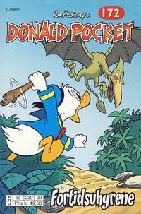Cover Thumbnail for Donald Pocket (Hjemmet / Egmont, 1968 series) #172 - Fortidsuhyrene [2. utgave bc 239 09]