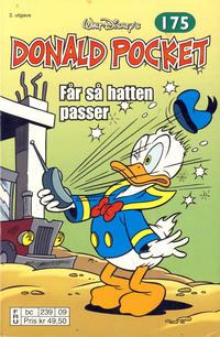 Cover Thumbnail for Donald Pocket (Hjemmet / Egmont, 1968 series) #175 - Donald får så hatten passer [2. utgave bc 239 09]