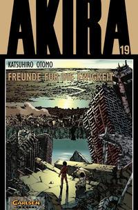 Cover Thumbnail for Akira (Carlsen Comics [DE], 1991 series) #19 - Freunde für die Ewigkeit