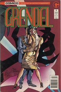 Cover Thumbnail for Grendel (Comico, 1986 series) #4 [Newsstand]