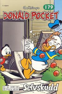 Cover Thumbnail for Donald Pocket (Hjemmet / Egmont, 1968 series) #179 - Selvskudd [2. utgave bc 239 09]