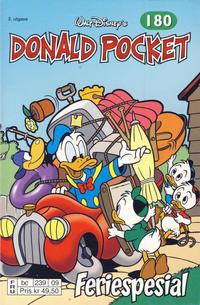 Cover Thumbnail for Donald Pocket (Hjemmet / Egmont, 1968 series) #180 - Feriespesial [2. utgave bc 239 09]
