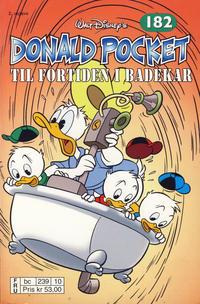 Cover Thumbnail for Donald Pocket (Hjemmet / Egmont, 1968 series) #182 - Til fortiden i badekar [2. utgave bc 239 10]