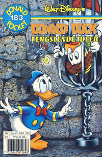 Cover Thumbnail for Donald Pocket (Hjemmet / Egmont, 1968 series) #183 - Donald Duck Fengslende ideer [1. opplag]