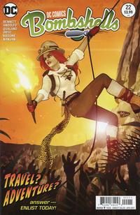 Cover Thumbnail for DC Comics: Bombshells (DC, 2015 series) #22
