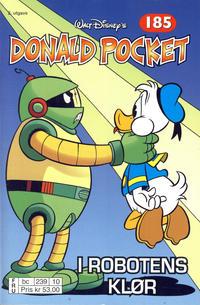 Cover Thumbnail for Donald Pocket (Hjemmet / Egmont, 1968 series) #185 - I robotens klør [2. utgave bc 239 10]