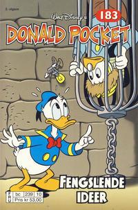 Cover Thumbnail for Donald Pocket (Hjemmet / Egmont, 1968 series) #183 - Fengslende ideer [2. utgave bc 239 10]