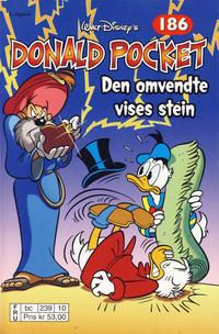 Cover Thumbnail for Donald Pocket (Hjemmet / Egmont, 1968 series) #186 - Den omvendte vises stein [2. utgave bc 239 10]