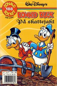 Cover Thumbnail for Donald Pocket (Hjemmet / Egmont, 1968 series) #188 - Donald Duck på skattejakt [1. opplag]