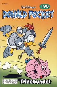 Cover Thumbnail for Donald Pocket (Hjemmet / Egmont, 1968 series) #190 - Svinebundet [2. utgave bc 239 10]
