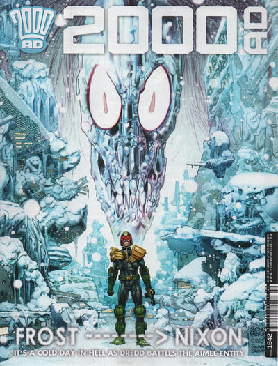 Cover for 2000 AD (Rebellion, 2001 series) #1942