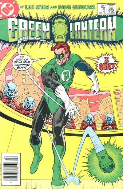 Cover for Green Lantern (DC, 1976 series) #181 [Newsstand]