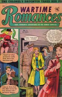 Cover Thumbnail for Wartime Romances (St. John, 1951 series) #11