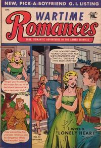 Cover Thumbnail for Wartime Romances (St. John, 1951 series) #13