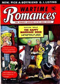 Cover Thumbnail for Wartime Romances (St. John, 1951 series) #14