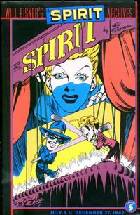 Cover Thumbnail for Will Eisner's The Spirit Archives (DC, 2000 series) #5